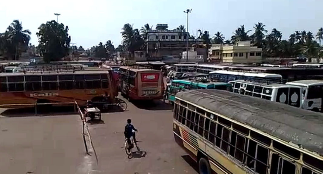 Private bus strike across Odisha leaves passengers in trouble