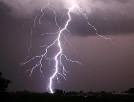 17 districts sounded Thunderstorm, Lightning
