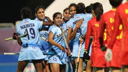 India thrush China to win women's hockey Asia Cup title