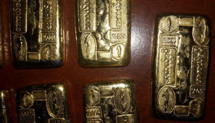 gold biscuits seized