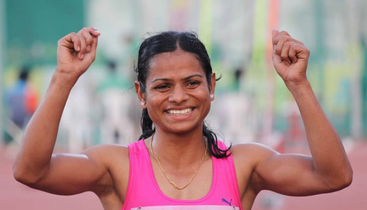 Dutee sets new national record in women's 100m KalingaTV News Network Guwahati: Ace sprinter from Odisha Dutee Chand set a new national record in women's 100m race on Friday. Dutee set the record while participating at the 58th National Inter State Senior Athletics Championships-2018 being held at Sarusajai Stadium, Guwahati. Dutee finished first in Heat-2 of semi-final round of women's 100m sprint clocking 11.29 seconds, thereby breaking the national record which she herself had created last year with a timing of 11.30 at the Indian Grand Prix, New Delhi. She has qualified for the Jakarta Asian Games in both 100m and 200m events which is will be held between August 18 and September 2.