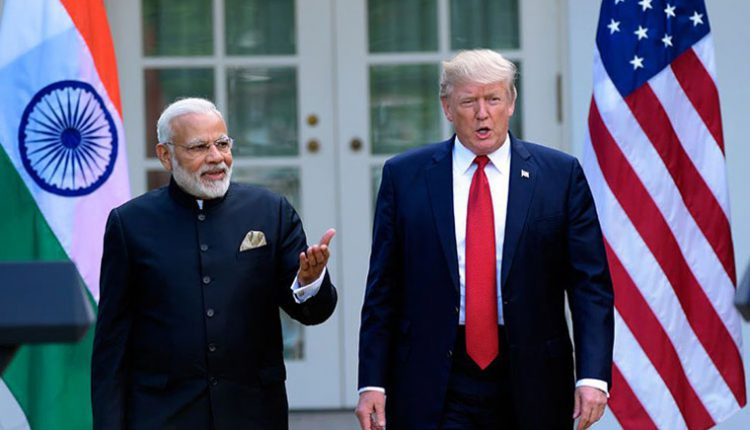 PM Modi talks to US President Trump on phone