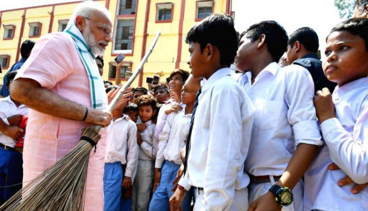 PM Modi 'Swachhata Hi Seva Movement'