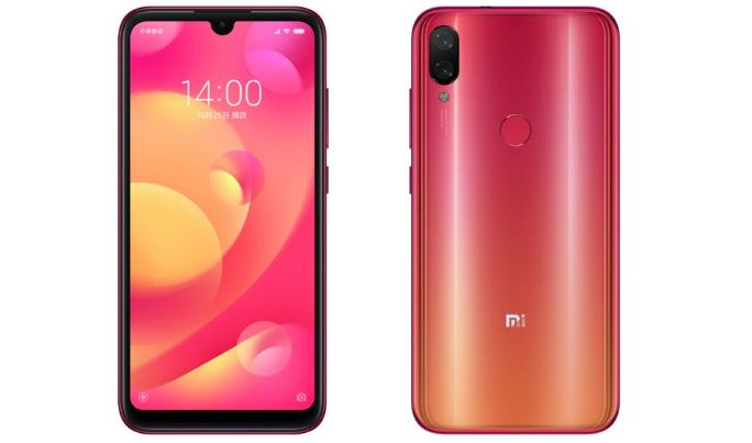 Xiaomi Mi Play With Waterdrop Screen Notch Launched