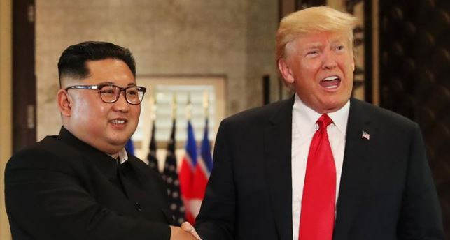 US President Donald Trump Meets Kim Jong Un In North Korea