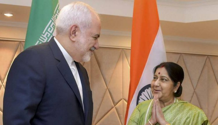 Sushma Swaraj Hold Bilateral Talks With Iranian Foreign Minister Javad Zarif