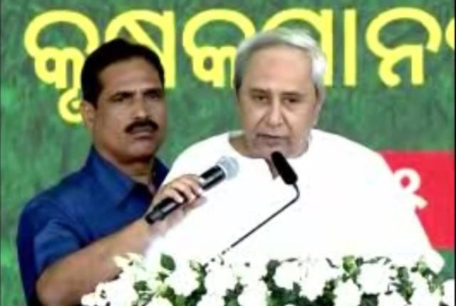 CM Naveen Patnaik at Farmers' Convention in Puri
