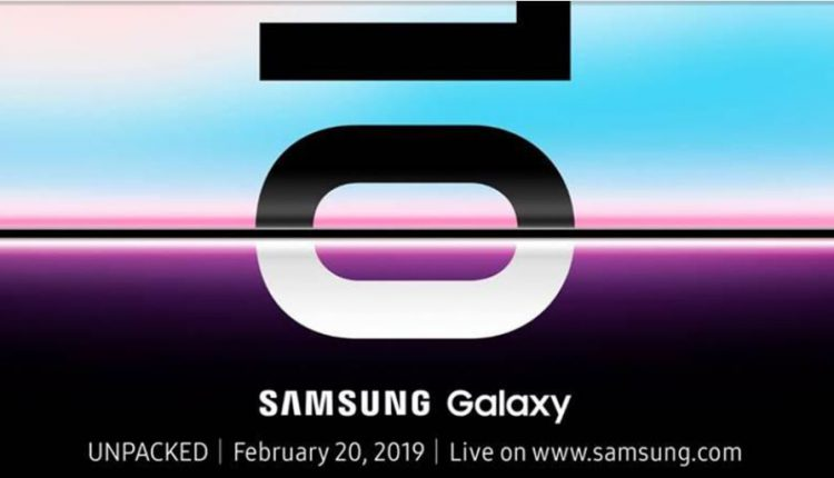 Samsung Galaxy 10 & Foldable phone launch