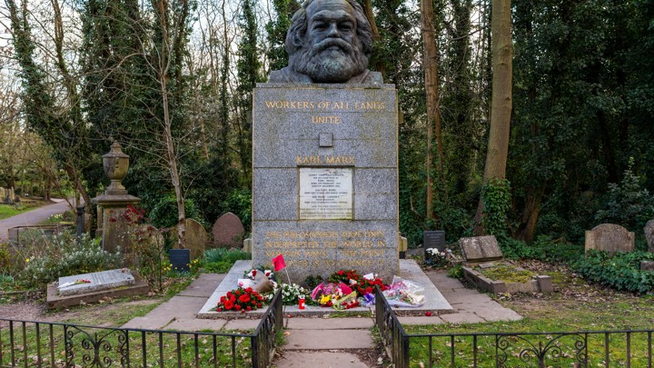 Tomb of Karl Marx vandalised in a suspected hammer attack