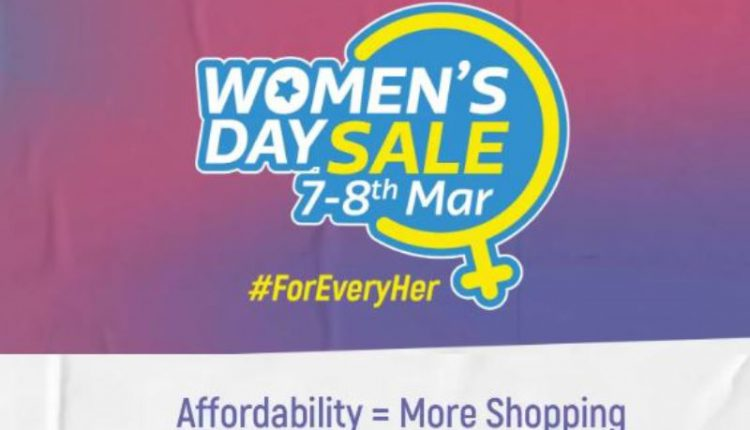 Flipkart offers sweet deals on Women's Day