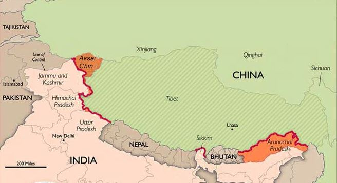 China To Destroy 3 Lakh Maps Showing Arunachal Pradesh As Part Of India