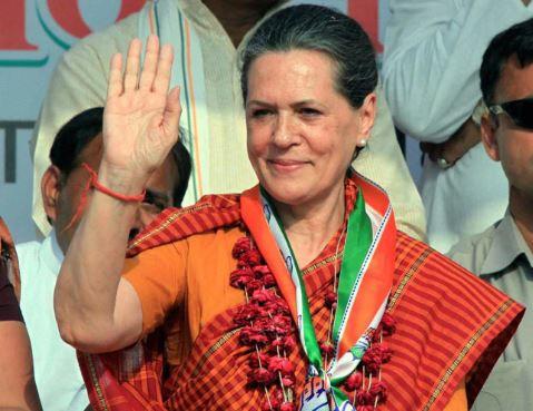 Sonia Gandhi Elected Head Of Congress Parliamentary Party