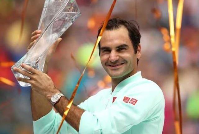 Roger Federer lifts 101st title by winning Miami Open