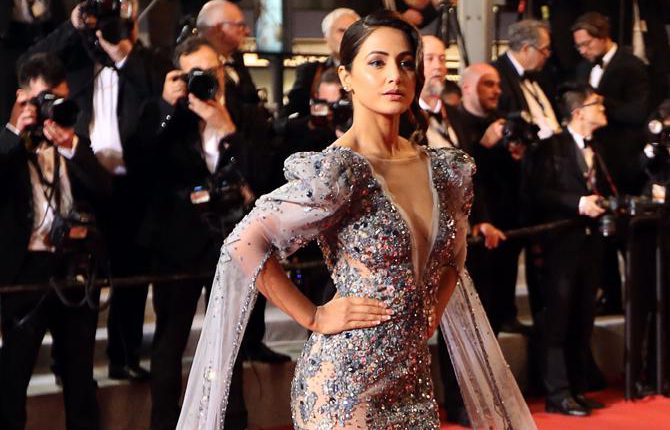 Photos: Hina Khan's Stunning Red Carpet Debut At Cannes Film Festival