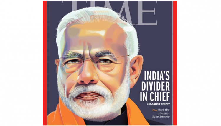 America's Time Magazine Calls PM Modi 'India's Divider-in-Chief'