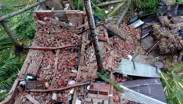 Chief Minister Announces Pucca Houses For Cyclone Affected Families