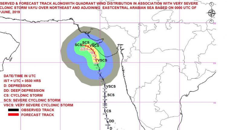 Cyclone Vayu Won't Make Landfall In Gujarat, Changes Course