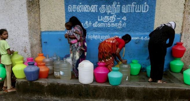 Special Trains To Transport 1 Crore Litres Of Water Daily To Parched Chennai