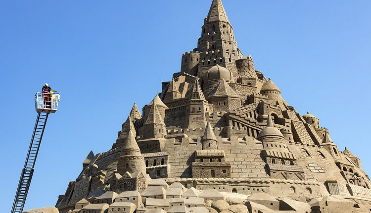 Tallest Sandcastle In Germany Breaks Guinness World Record
