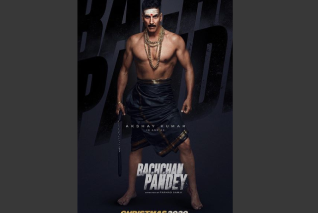 Akshay Kumar Looks Rugged in a Lungi as He Drops First Look of Bachchan Pandey