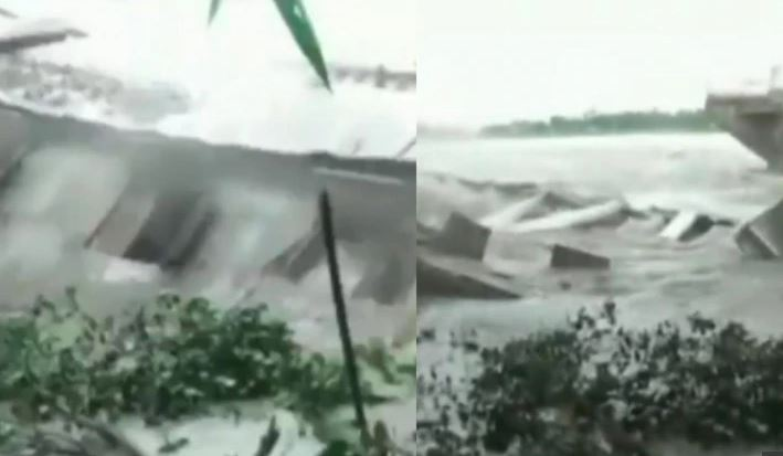 Video: School Building Collapses Into Brahmaputra River In Assam After Heavy Rain