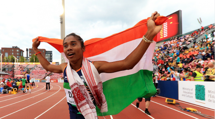 Hima Das Donates Half Month's Salary To Assam Flood Relief Fund