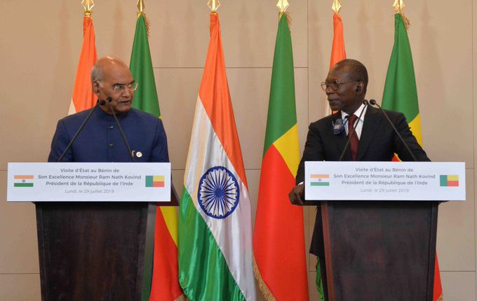 India offers US$ 100 million line of credit to Benin