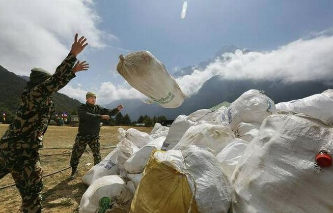 Nepal Trying To Convert Everest Trash Into Treasure