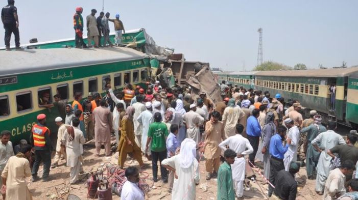 Pakistan: 11 Killed, Over 60 Injured In Train Collision