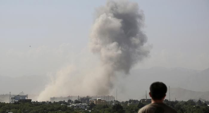 Powerful explosion rocks Afghan capital Kabul