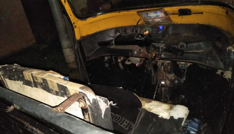 Auto Driver Critical After Explosion In Vehicle In Bhubaneswar