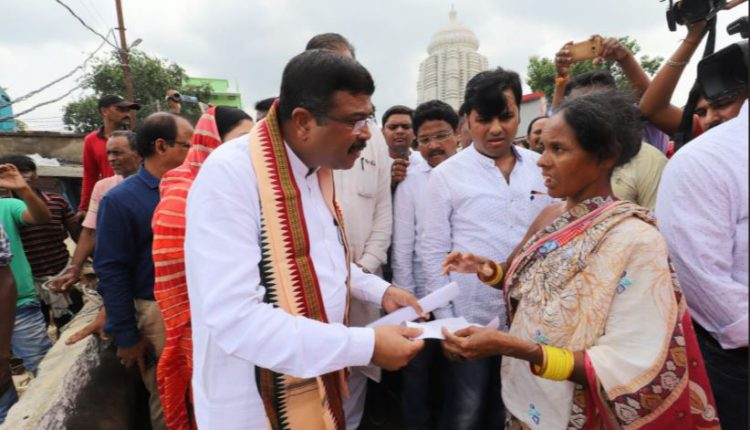 Dharmendra Pradhan reviews flood situation in Odisha's Balangir