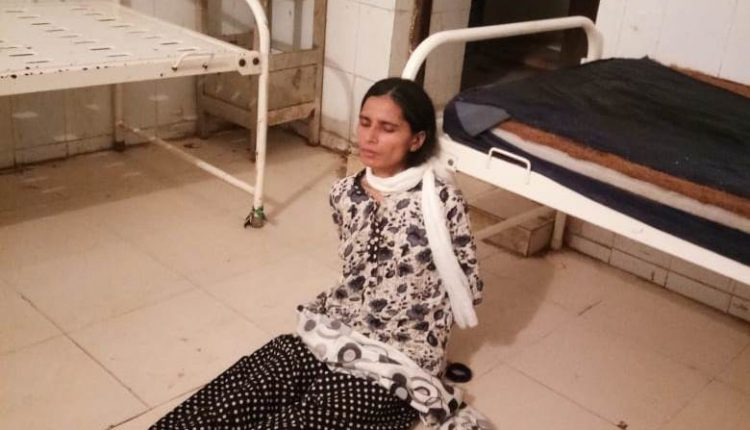 Shocking! Woman Patient Tied To Bed In Odisha Govt Hospital