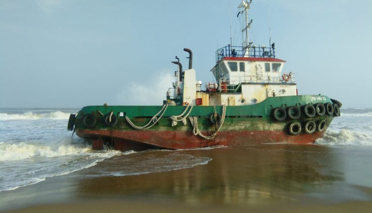 Stranded Malaysian Ship Is Likely To Be Repaired In Next 10 Days; Puri District Administration