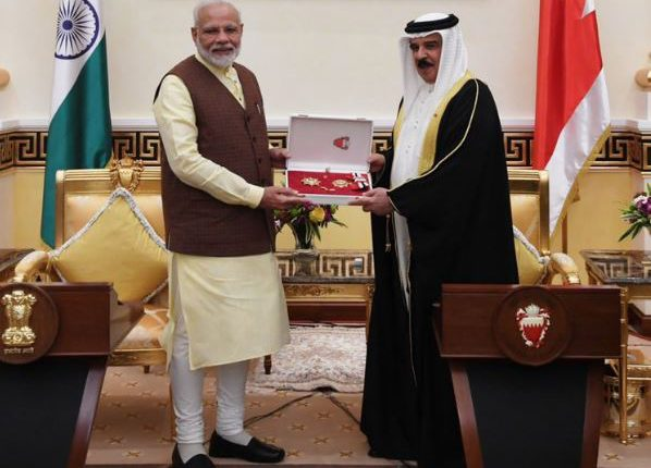 PM Modi Meets King Of Bahrain, Honoured With 'The King Hamad Order of the Renaissance'