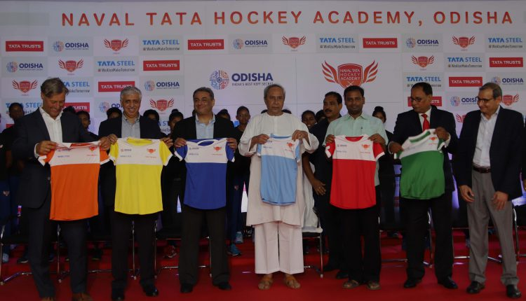 Naval Tata Hockey Academy Inaugurated In Odisha Capital