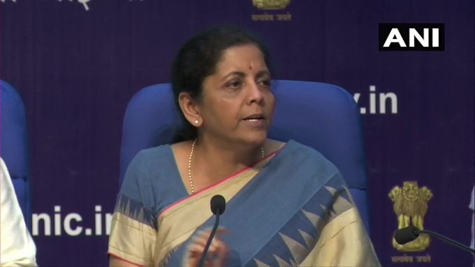 Nirmala Sitharaman announces slew of measures to revive Indian economy