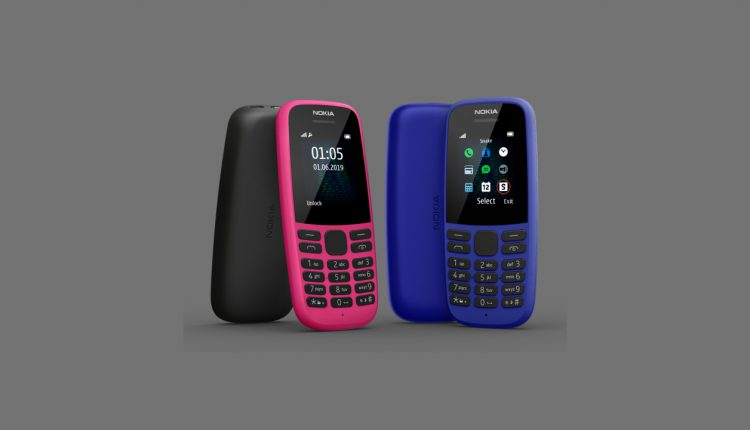 Nokia 105 (2019) Feature Phone Announced In India At Rs 1,199