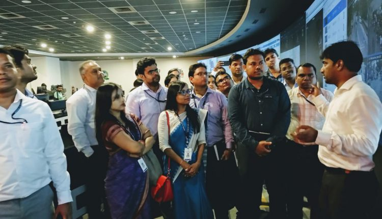 OFS Probationers Visit Smart City Office In Bhubaneswar