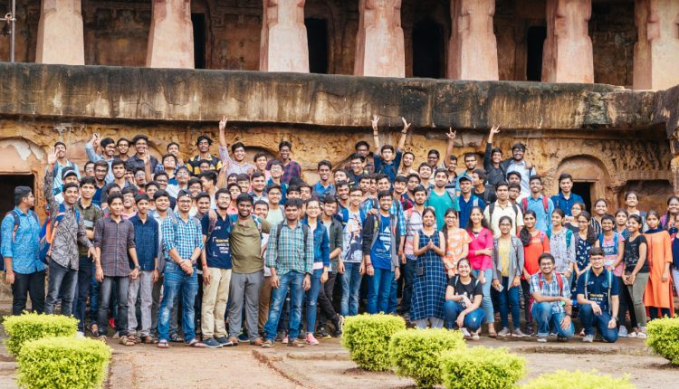 IIT Bhubaneswar Students Experience Stories Of Ancient Odisha At Cave Trails