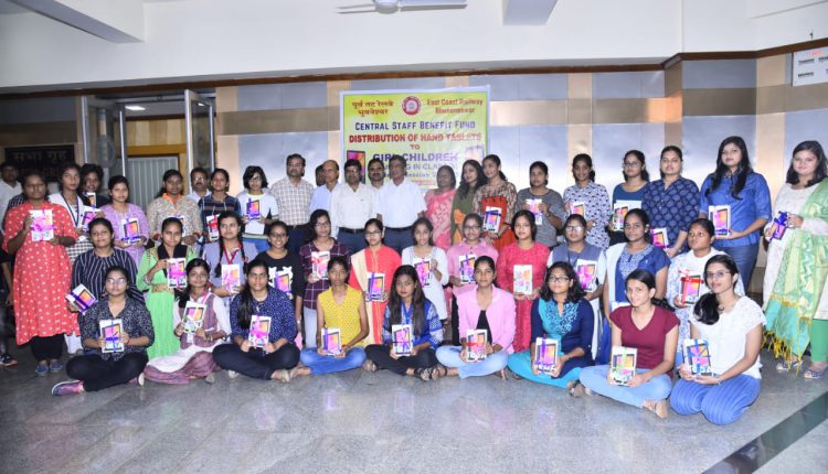 ECoR Distributes Tablets To Girl Child Of Its Employees