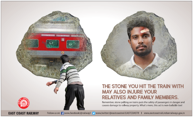 Pelting Of Stones On Running Trains Emerges As major Concern For ECoR