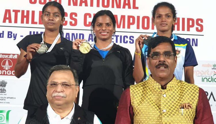 Odisha Sprinter Dutee Chand Wins Second Gold At National Open Athletics Championships