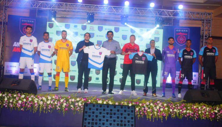 New Kit Of Odisha FC Unveiled