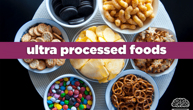 high intake of processed foods