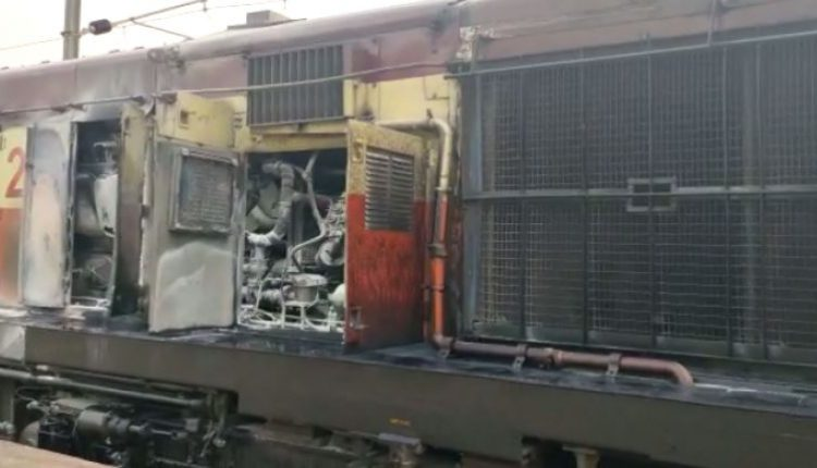 Fire Breaks Out In Engine Of Ajmer-Puri Express In Odisha