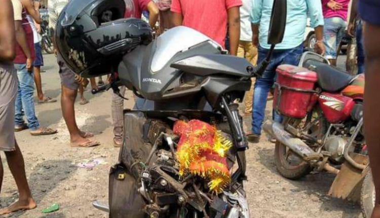 One Killed, Another Critical In Road Mishap In Jajpur
