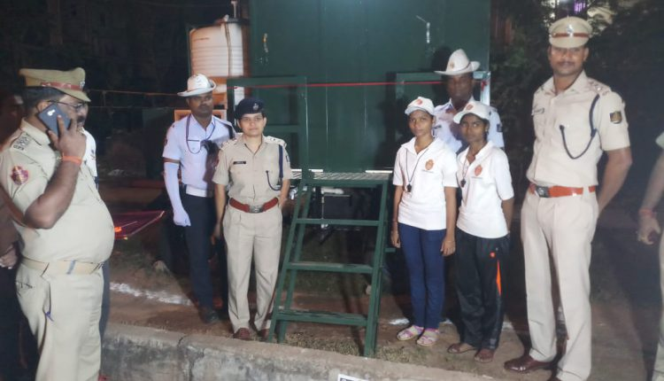 Eight Mobile Toilets Provided To Team Traffic In Bhubaneswar