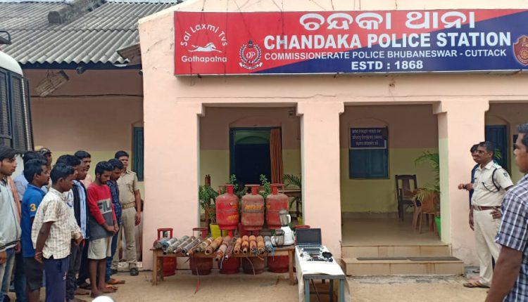 Burglary Gang Busted In Bhubaneswar, Seven Arrested