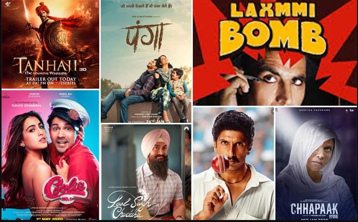 Image result for bollywood 2020